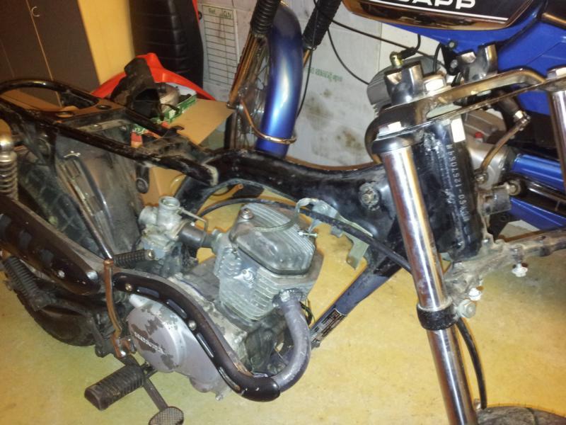 Restauration Honda CY 50 | www.moped-freak-kempten.de